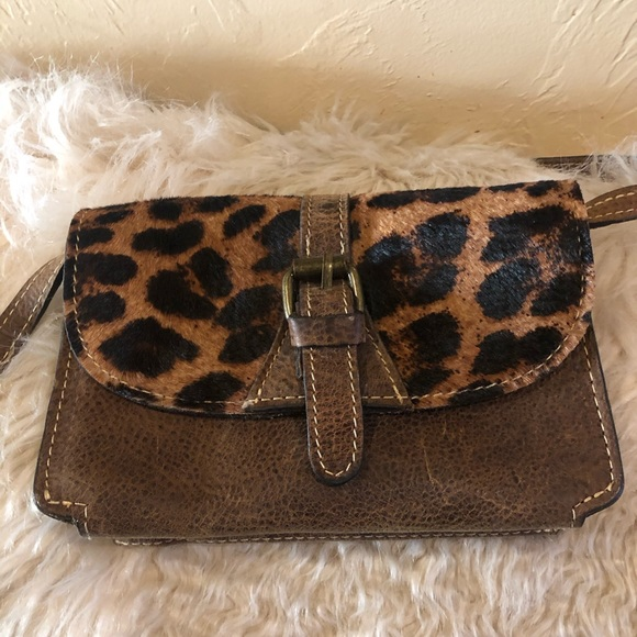 Patrica Nash Leopard Crossbody bag